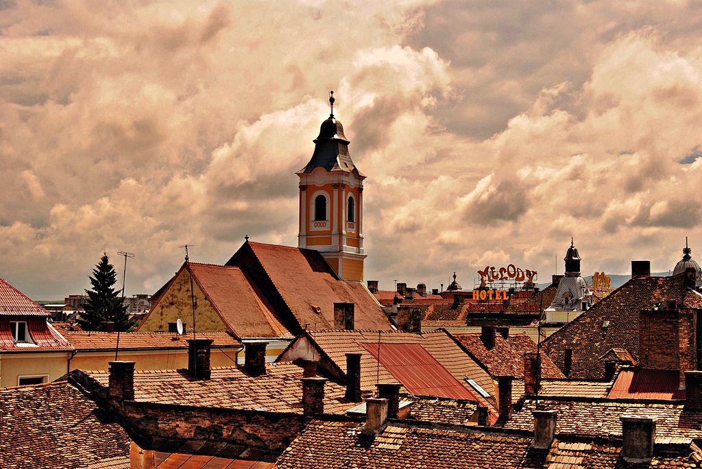 Vue sur Cluj Napoca en Roumanie - Photo de Andrea Polereczky.