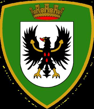 Alpine Brigade Tridentina - Coat of Arms of the Alpine Brigade Tridentina