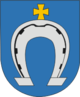 Coat of Arms of Naroŭla, Belarus.png