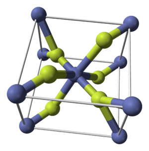 Cobalt(II) fluoride - Image: Cobalt(II) fluoride unit cell 3D balls