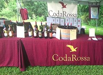 Coda Rossa Winery - Coda Rossa participates in many wine festivals each year.