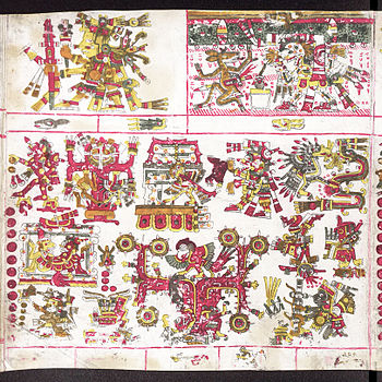Codex Borgia page 52