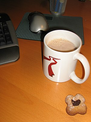 Cola Cao - Warm Cola Cao in a mug