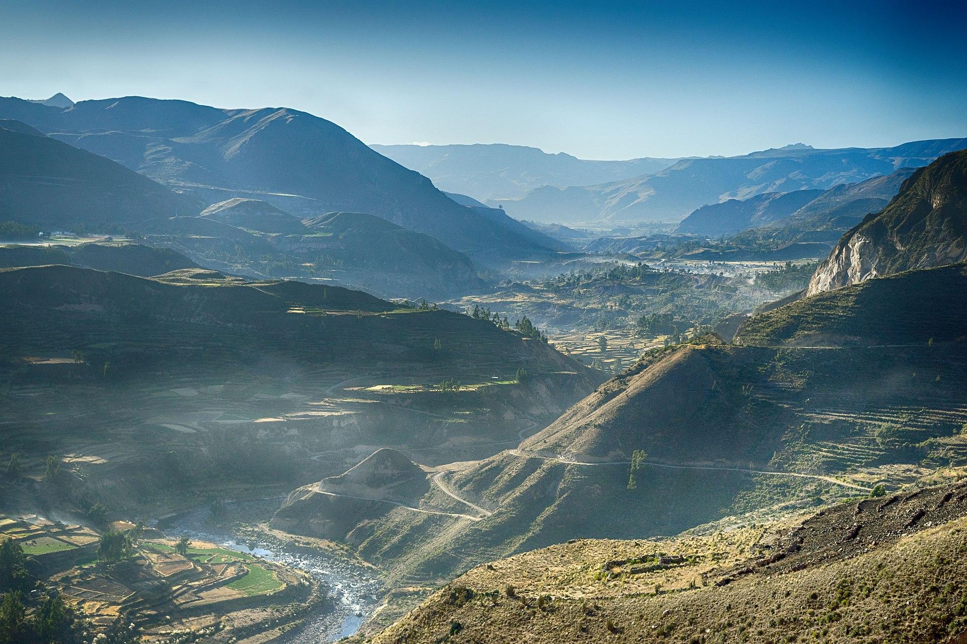valle de Colca, peru