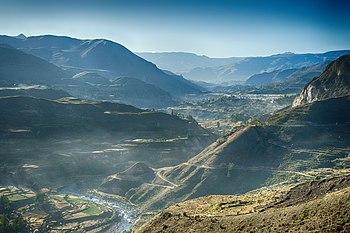 Resultado de imagen de Grafica con sus valles y depresiones