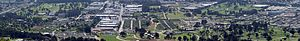 Colma, California - Image: Colma california panoramic 1w