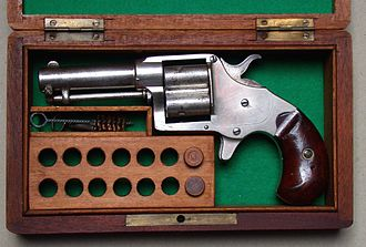 Colt House Revolver - A view of a Cloverleaf Model Revolver