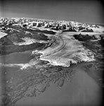 Columbia Glacier, Heather Island, Calving Terminus with Oblique View of Valley Glacier, August 25, 1969 (GLACIERS 1037).jpg