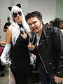 """Comikaze Expo 2011 - """"Claws"""" Black Cat and Wolverine (6324615433).jpg"""