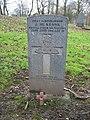 Commonwealth War Grave in Jarrow Cemetery (WW1-30) - geograph.org.uk - 1604089.jpg