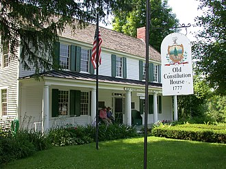 Vermont - The Old Constitution House at Windsor, where the Constitution of Vermont was adopted on July 8, 1777