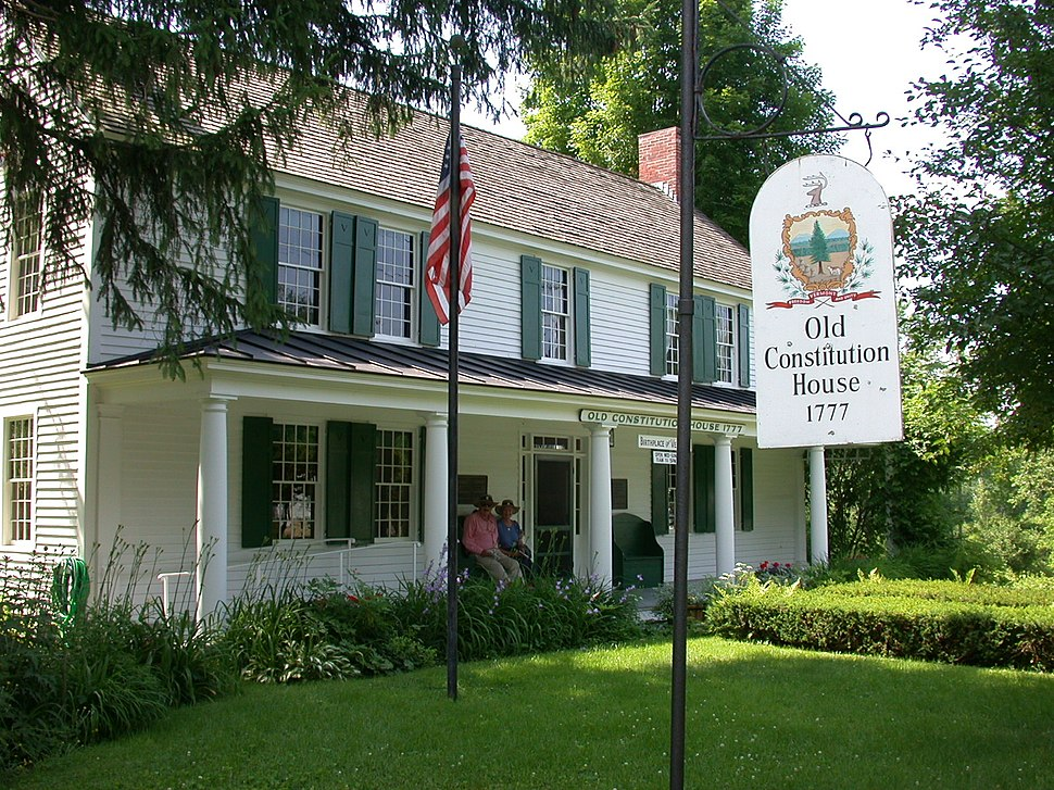 Old Constitution House, where the Constitution of the Vermont Republic was signed