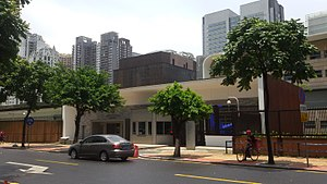 Consulate General of the United States, Guangzhou - The new consulate compound located in Zhujiang New Town
