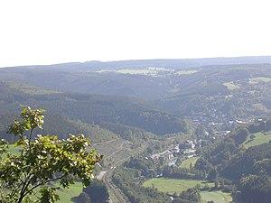 Liège (province) - The Coo Waterfalls (municipality of Stavelot)