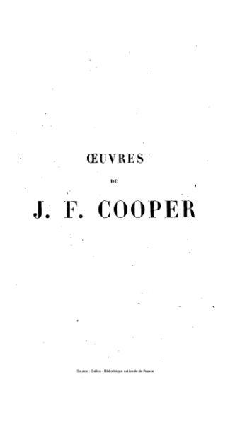 File:Cooper - Œuvres complètes, éd Gosselin, tome 10, 1839.djvu