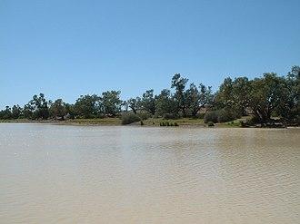 Durham, Queensland - Bullah Bullah waterhole, 2008