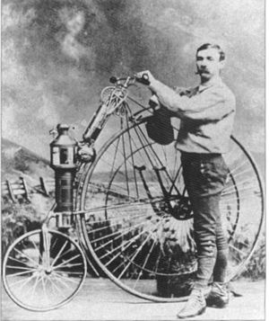 History of the motorcycle - Lucius Copeland 1894