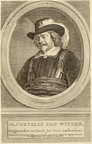 Cornelis Jan Witsen - Cornelis Jan Witsen, depicted in a captain's uniform.