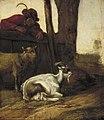 Cornelis Saftleven - Jongen die naar een geit en een bok kijkt - 1767 (OK) - Museum Boijmans Van Beuningen.jpg