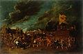 Cornelis de Wael - Bitka pred utrjenim mestom.jpg