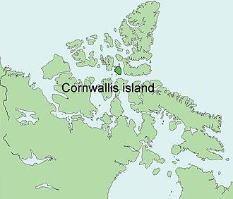 Cornwallis Island (Nunavut) - Image: Cornwallis Island