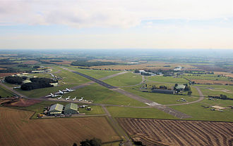 Aerodrome - Cotswold Airport in England