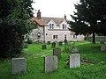 Cottages adjoining churchyard - geograph.org.uk - 833006.jpg