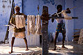 Cotton dyeing in India.jpg
