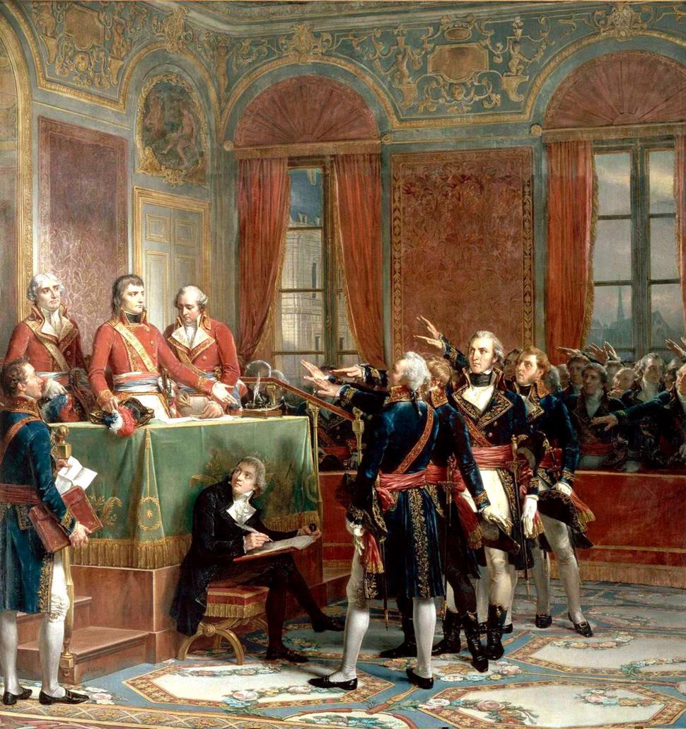 Couder - Installation du Conseil d'Etat