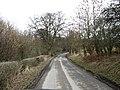 Country road heading towards Riddell Farm - geograph.org.uk - 1181093.jpg