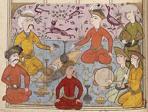 Mah-Adhur Gushnasp - Court of Ardashir III.