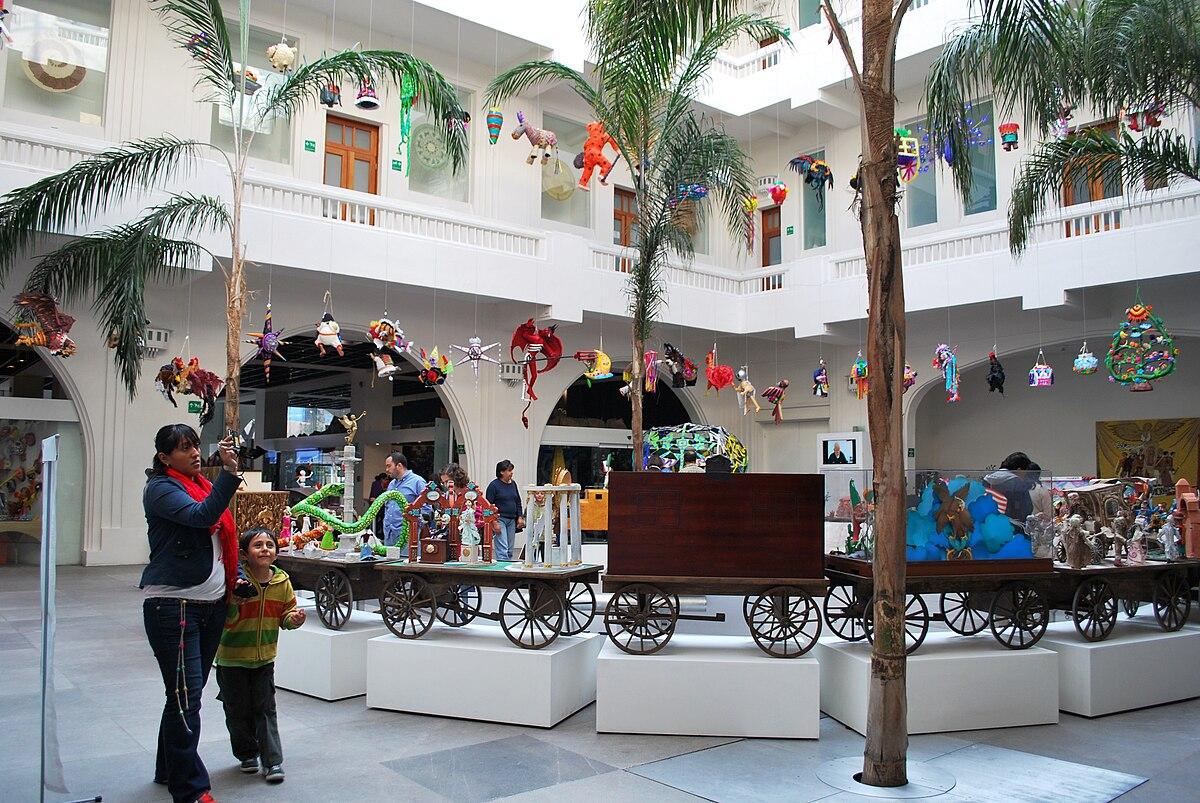 Museo De Arte Popular Mexico City Wikimedia Commons