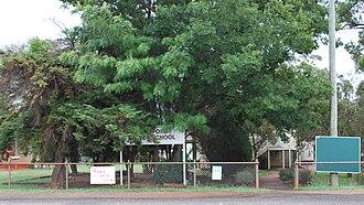 Crawford, Queensland - State school at Crawford, 2008