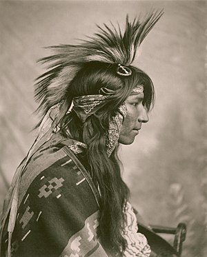 Cree - Cree Indian, taken by G. E. Fleming, 1903