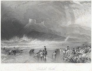 Crickieth Castle north Wales