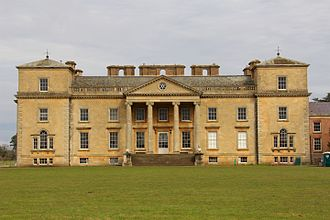 Croome Court - The southern facade of Croome Court