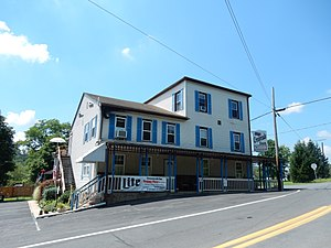 North Manheim Township, Schuylkill County, Pennsylvania - Image: Crossroad Inn, Adamsdale PA 01