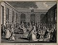 Crowds of sick people gathered at the tomb of F. de Paris, S Wellcome V0016634.jpg