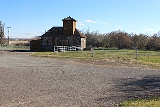 National Register of Historic Places listings in Lincoln County, Idaho - Image: Custer Slaughterhouse