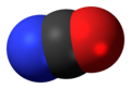 Cyanate anion 3D spacefill.png