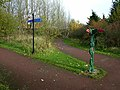 Cycleway junction near Scotswood Bridge - geograph.org.uk - 1038972.jpg