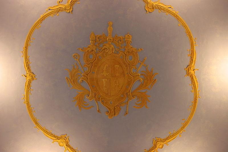 File d tail du plafond de la chapelle de la tour du - Plafond de la chapelle sixtine description ...