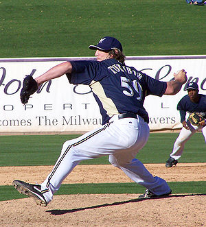 Derrick Turnbow - Turnbow with the Milwaukee Brewers