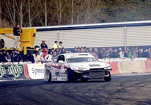 Drifting (motorsport) - Nissan Silvia S15 drifting