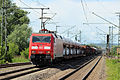 DB BR 152 002-2 Freight--Cargotrain - Güterzug - (DE) Mertingen - 11.05.2014 (14428289097).jpg
