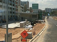 DT31 Tampines West MRT Station underconstruction.jpg