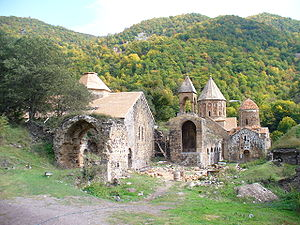 Shahumyan Region - The 9th-13th century Armenian monastery of Dadivank