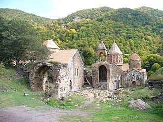 Shahumyan Province - The 9th-13th century Armenian monastery of Dadivank