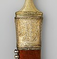 Dagger (Jambiya) with Scabbard and Fitted Storage Case MET DP157409.jpg