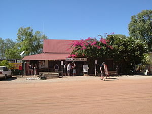 Daly Waters, Northern Territory - The front of the famous Daly Waters Pub